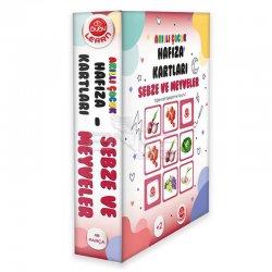 Bubu - Bubu Akıllı Çocuk Hafıza Kartları Sebze ve Meyveler