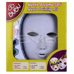 Bubu - BuBu Maske Boyama Seti (1)