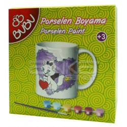 BuBu Porselen Boyama Seti - Thumbnail