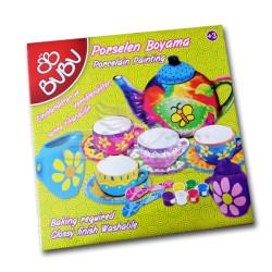 Bubu - BuBu Porselen Boyama Seti Fincanlar (1)