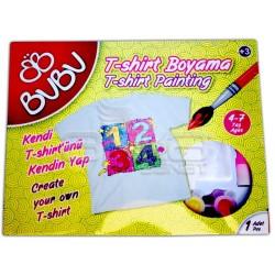 BuBu T-Shirt Boyama Seti - Thumbnail