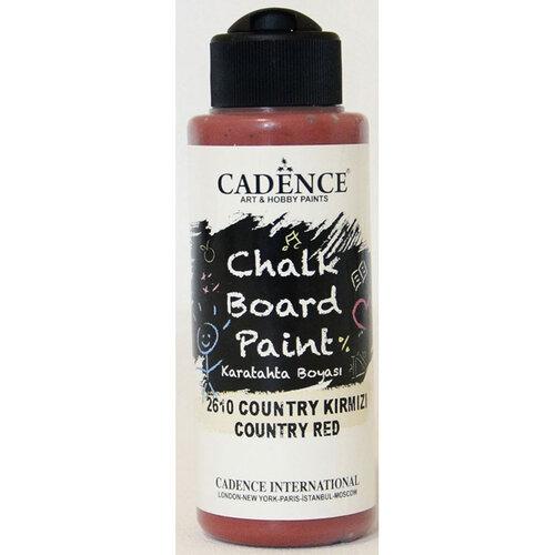 Cadence Chalkboard Paint 120ml Kara Tahta Boyası 2610 Country Kırmızı - 2610 Country Kırmızı