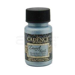 Cadence Dora Textile Metalik Kumaş Boyası 50ml 1145 Aqua - Thumbnail