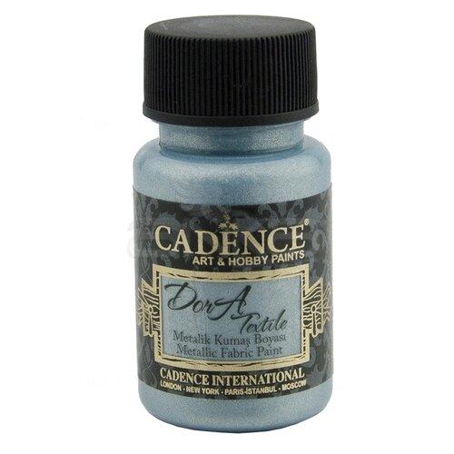 Cadence Dora Textile Metalik Kumaş Boyası 50ml 1145 Aqua