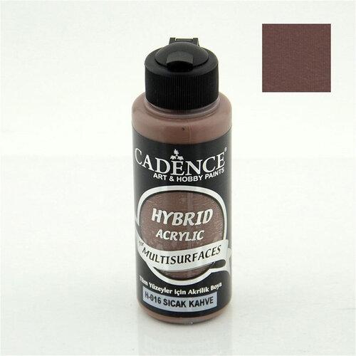 Cadence Hybrid Acrylic For Multisurfaces Tüm Yüzeyler İçin Akrilik Boya 120ml H016 Sıcak Kahve - H016 Sıcak Kahve