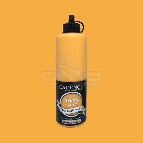 Cadence Hybrid Acrylic For Multisurfaces Tüm Yüzeyler İçin Akrilik Boya 500ml H010 Sıcak Turuncu