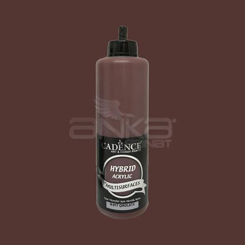 Cadence Hybrid Acrylic For Multisurfaces Tüm Yüzeyler İçin Akrilik Boya 500ml H017 Çikolata