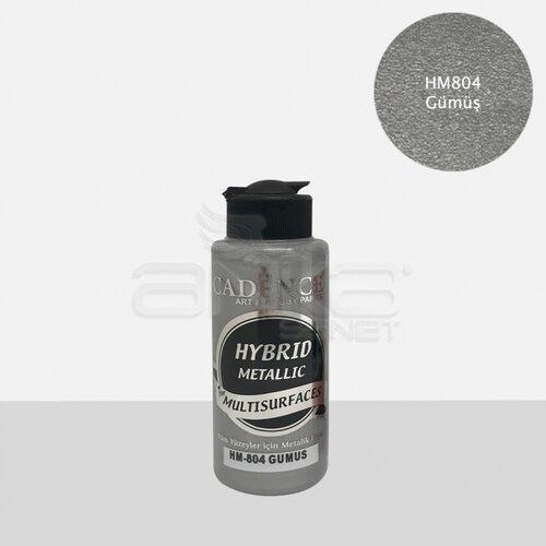 Cadence Hybrid Metallic For Multisurfaces Tüm Yüzeyler İçin Metalik Boya 120ml H804 Metalik Gümüş - H804 Metalik Gümüş