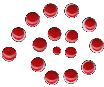 Cadence Renkli İnciler Boyutlu Boya 564 Scarlet Kırmızı 25ml