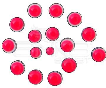 Cadence Renkli İnciler Boyutlu Boya 574 Fosforlu Pembe 25ml