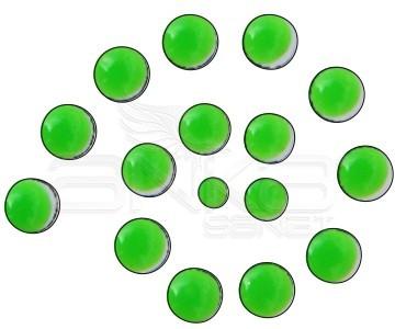 Cadence Renkli İnciler Boyutlu Boya 575 Fosforlu Yeşil 25ml