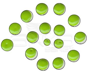 Cadence Renkli İnciler Boyutlu Boya 577 Fıstık Yeşili 25ml