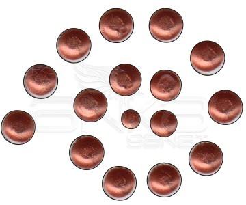 Cadence Renkli İnciler Boyutlu Boya 585 Metalik Bakır 25ml