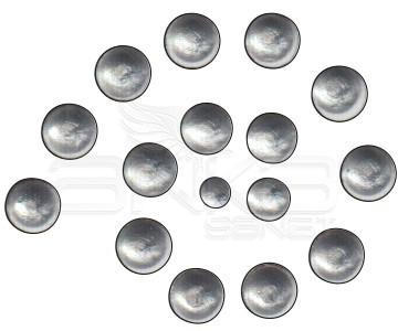 Cadence Renkli İnciler Boyutlu Boya 586 Metalık Gümüş 25ml