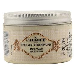 Cadence - Cadence Shabby Chic Rölyef Pasta 150ml SR01 Taffy