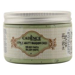 Cadence - Cadence Shabby Chic Rölyef Pasta 150ml SR12 Adaçayı-Sage