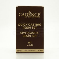 Cadence - Cadence Sıvı Plastik Resin Set A&B 250+250ml (1)