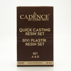 Cadence - Cadence Sıvı Plastik Resin Set A&B 500+500ml (1)