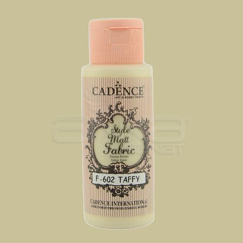 Cadence Style Matt Fabric Kumaş Boyası 59ml F602 Taffy
