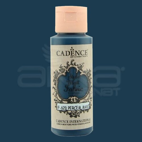 Cadence Style Matt Fabric Kumaş Boyası 59ml F620 Perçem Mavi-Tufis