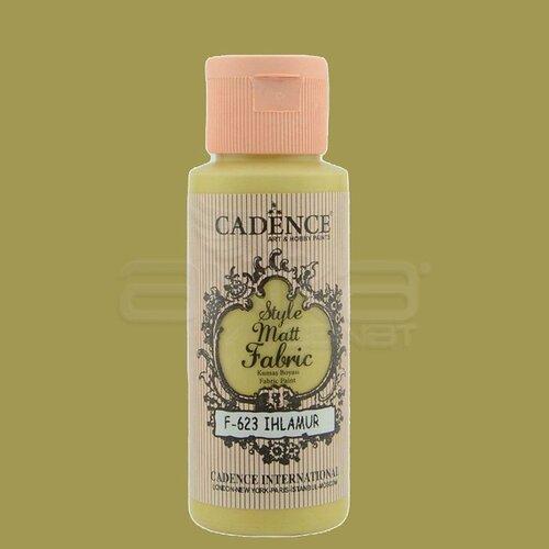 Cadence Style Matt Fabric Kumaş Boyası 59ml F623 Ihlamur-Linden
