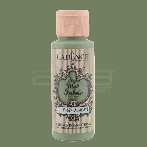 Cadence Style Matt Fabric Kumaş Boyası 59ml F624 Adaçayı-Sage