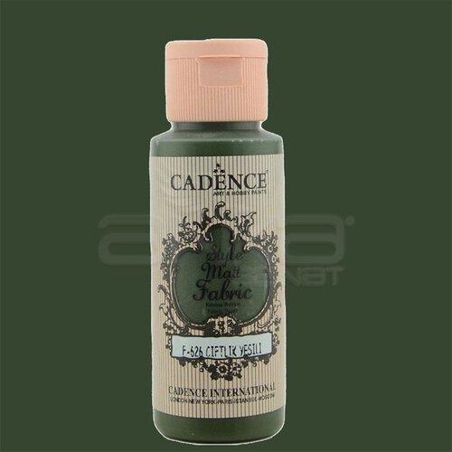 Cadence Style Matt Fabric Kumaş Boyası 59ml F626 Çiftlik Yeşili-Farm Green