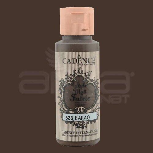 Cadence Style Matt Fabric Kumaş Boyası 59ml F628 Kakao-Cacao