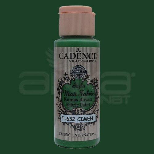 Cadence Style Matt Fabric Kumaş Boyası 59ml F632 Çimen