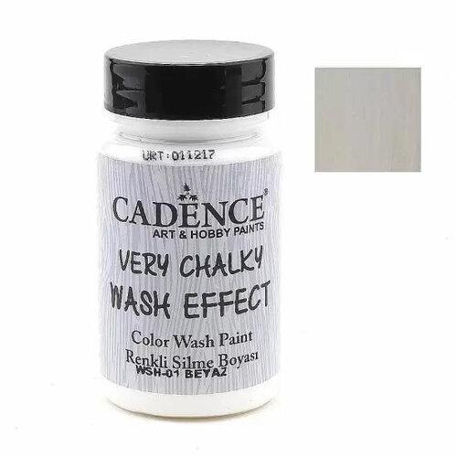 Cadence Very Chalky Wash Effect Renkli Silme Boyası 90ml 01 Beyaz