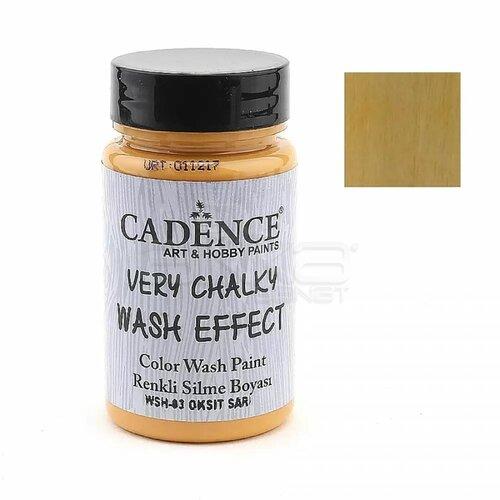 Cadence Very Chalky Wash Effect Renkli Silme Boyası 90ml 03 Oktik Sarı