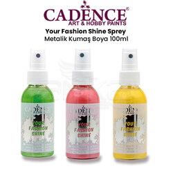 Cadence - Cadence Your Fashion Shine Sprey Metalik Kumaş Boya 100ml
