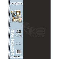 Anka Art - Can Kardeş Spiralli Sketch Pad 30 Yaprak 200g (1)