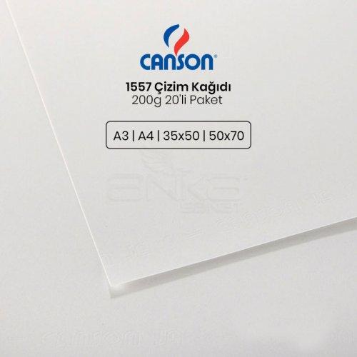 Canson 1557 Çizim Kağıdı 200g 20li Paket