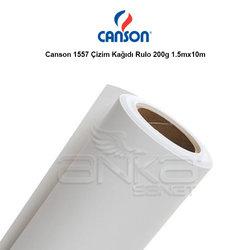Canson - Canson 1557 Çizim Kağıdı Rulo 200g 1.5mx10m