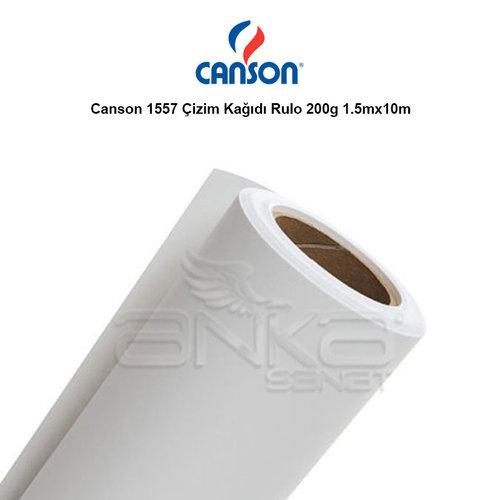 Canson 1557 Çizim Kağıdı Rulo 200g 1.5mx10m