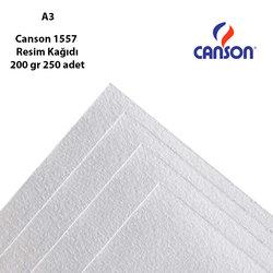 Canson - Canson 1557 Resim Kağıdı 200 gr 250 adet (1)