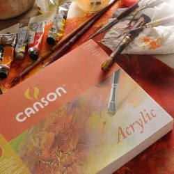 Canson - Canson Acrylic Blok Cold Pressed 400g 10 Sayfa (1)