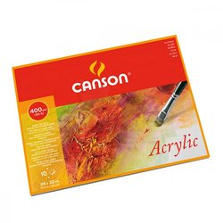 Canson - Canson Acrylic Blok Cold Pressed 400g 10 Yaprak (1)