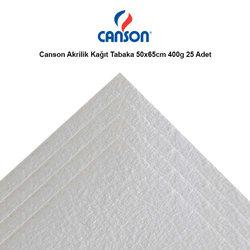 Canson Akrilik Kağıt Tabaka 50x65cm 400g 25 Adet - Thumbnail