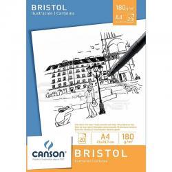 Canson - Canson Bristol Drawing Paper Pad Bristol Çizim Defteri 180g 20 Sayfa (1)