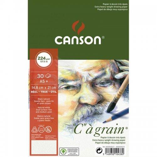 Canson CA Grain Çizim Defteri Light Grain 224g 30 Yaprak