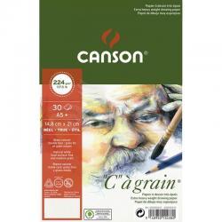 Canson CA Grain Çizim Defteri Light Grain 224g 30 Yaprak - Thumbnail