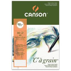 Canson CA Grain Heavyweight Çizim Bloğu 180g 30 Yaprak - Thumbnail