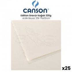 Canson - Canson Edition Gravür Kağıdı 320g Antik Beyaz 25li 76x112cm