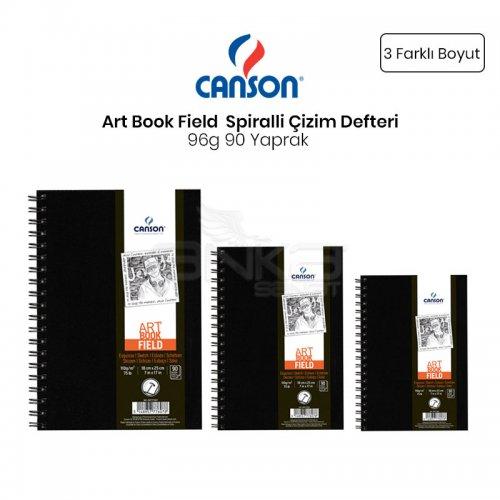 Canson Field Drawing Books Çizim Defteri Spiralli 96g 90 Sayfa