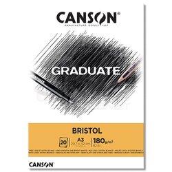 Canson - Canson Graduate Bristol Çizim Defteri 180g 20 Yaprak (1)