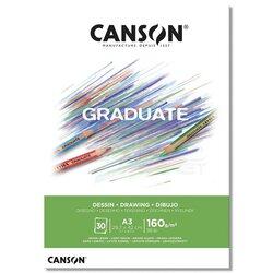Canson - Canson Graduate Drawing Çizim Defteri 160g 30 Yaprak (1)