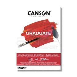 Canson Graduate Oil Acrylic Yağlı ve Akrilik Boya Blok 290g 20 Yaprak - Thumbnail