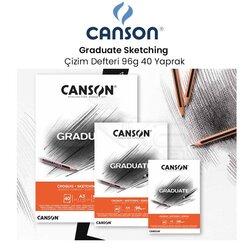 Canson - Canson Graduate Sketching Çizim Defteri 96g 40 Yaprak